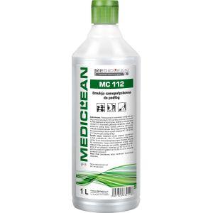 MEDICLEAN MC 112 - 1L Emulsja samopołyskowa do podłóg