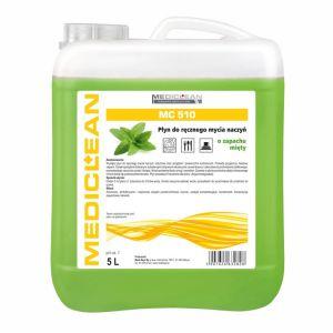 MEDICLEAN MC 510- 5L Płyn do ręcznego mycia naczyń MIĘTA