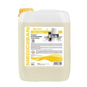 MEDICLEAN MC 540 - 10L Dish Clean Preparat do maszynowego mycia naczyń