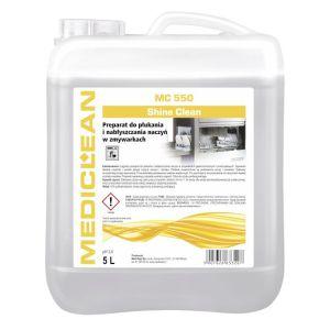MEDICLEAN MC 550 - 5L Shine Clean Preparat do płukania i nabłyszczania naczyń w zmywarkach