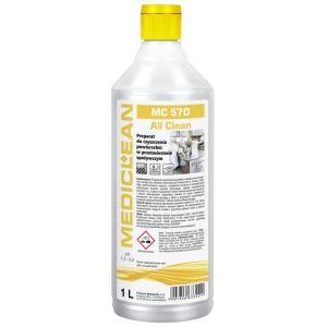 MEDICLEAN MC 570 - 1L ALL CLEAN Preparat do czyszczenia powierzchni w przetwórstwie spożywczym