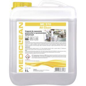 MEDICLEAN MC 570 - 5L ALL CLEAN Preparat do czyszczenia powierzchni w przetwórstwie spożywczym