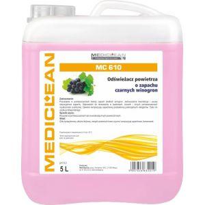 MEDICLEAN MC 610- 5 L. Odświeżacz powietrza czarny winogron