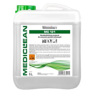 MEDICLEAN MG 121 - 5L. Wysokoalkaliczny preparat do usuwania powłok ochronnych