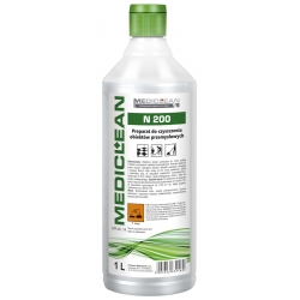 MEDICLEAN N200- 1L Preparat do czyszczenia podłóg w obiektach przemysłowych