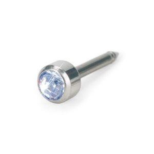 Blomdahl - Srebrny Tytan Medyczny Bezel 4 mm Alexandrite