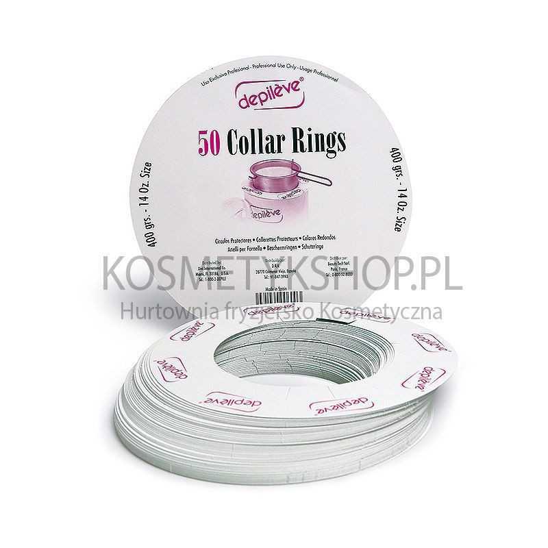 Depileve - Pierścienie ochronne do podrzewacza 400g - 50szt