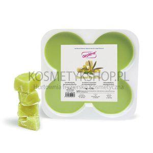 Wosk do depilacji oliwkowy 1kg tradycyjny twardy Depileve