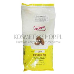 Depileve- wosk film wax masło karite w granulkach 500g