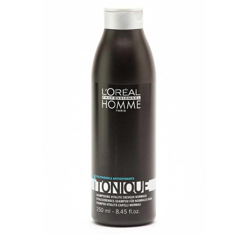 Loreal Homme Tonique szampon nadający połysk 250ml