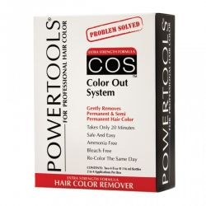POWERTOOLS COS Color Out System - Dekoloryzator do włosów 2 x 120 ml