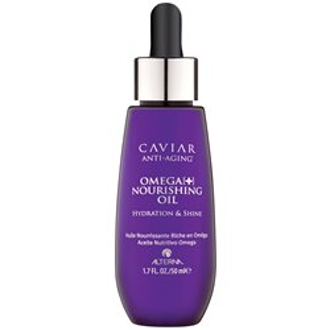ALTERNA Caviar Omega Nourishing Oil dogłębnie odżywiający olej z Omega-3 i kwasami tłuszczowymi C22 do włosów suchych i zniszczo