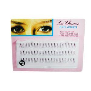 Charming Eyelashes Rzęsy 100% Naturalne Kępki 60 szt. C 0.10mm 12mm