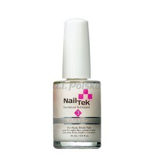 NAIL TEK Ridgefiller (Foundation 3) - Wygładzająca odżywka podkładowa do paznokci suchych 15ml