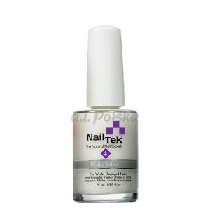 NAIL TEK Ridgefiller (Foundation Xtra) - Wygładzjąca odżywka podkładowa do paznokci cienkich 15ml