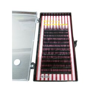 MINGJIE M-8216 1:1 Rzęsy jedwabne - dł: 10mm, gr: D