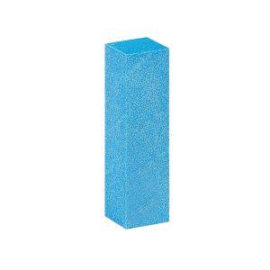 Blok polerski czterostronny - niebieski