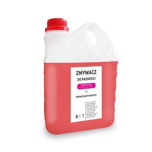 Zmywacz do paznokci bezacetonowy o zapachu Truskawki - Kosmetykshop 2L