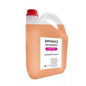 Zmywacz do paznokci bezacetonowy o zapachu Pomarańczy - Kosmetykshop 4L