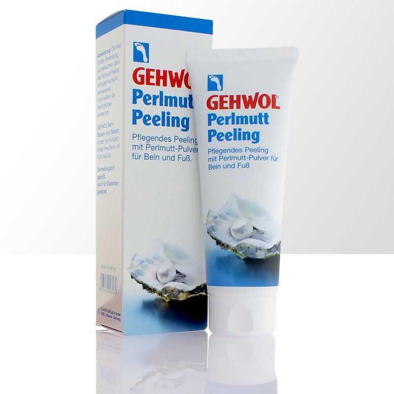 GEHWOL PERLMUTT-PEELING Peeling z masy perłowej 125ml