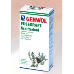 GEHWOL FUSSKRAFT KRAUTERBAD sól ziołowa do kąpieli stóp 400g