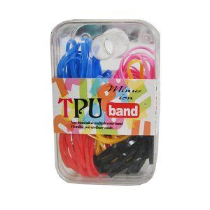 """Kolorowe gumki """"recepturki"""" do włosów, Mix Kolorów – 100szt"""