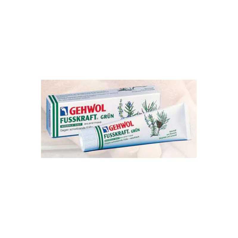 GEHWOL FUSSKRAFT GRUN balsam odświeżający do pocących się stóp 125ml