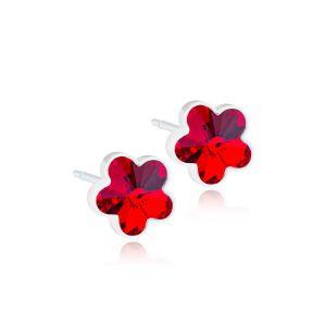 BLOMDAHL Plastik medyczny Flower ruby 6mm