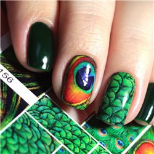 Naklejki wodne na paznokcie Milv Art - N 156