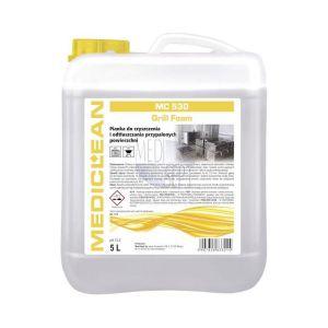 MEDICLEAN MC 530 - 5 L Grill Foam Pianka do czyszczenia i odtłuszczania przypalonych powierzchni