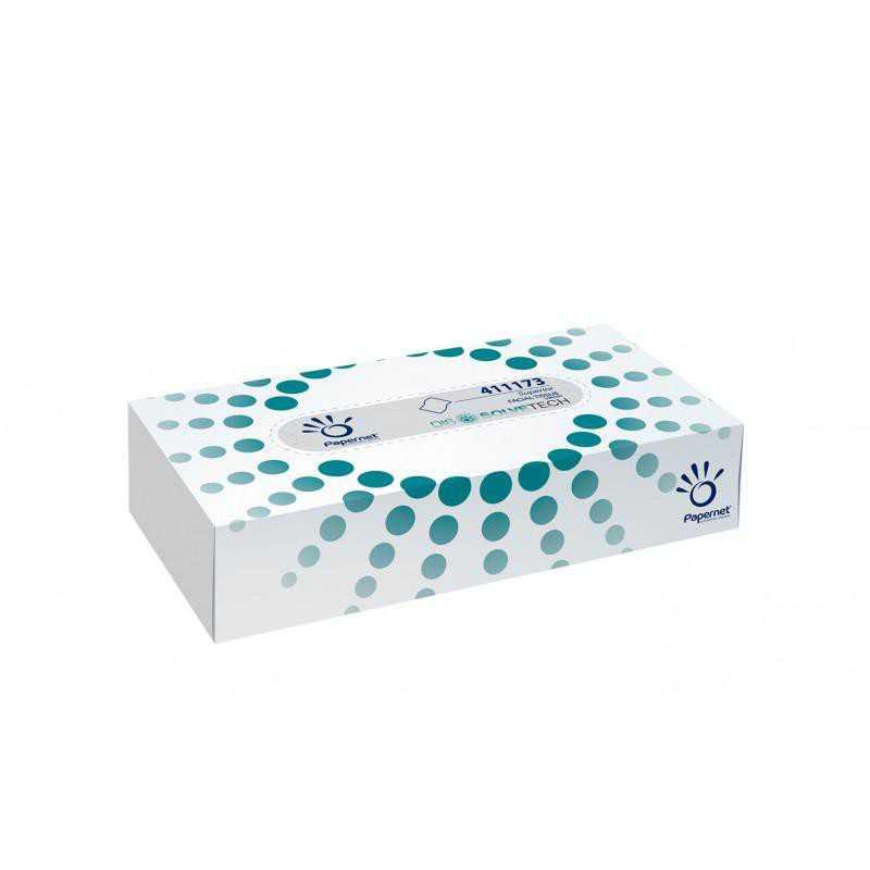 Chusteczki kosmetyczne celulozowe Papernet 22x20 - 100szt