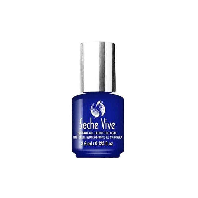 Top szybkoschnący do lakieru klasycznego efekt żelu Seche Vive 3,6 ml