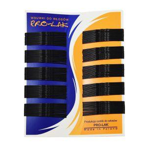 Wsuwki do włosów czarne 4,7 cm 100 szt.