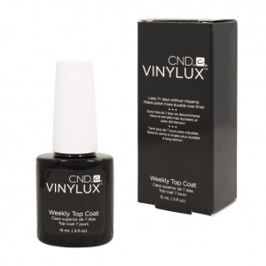 CND Vinylux Top Coat - utwardzacz i nabłyszczacz 15ml