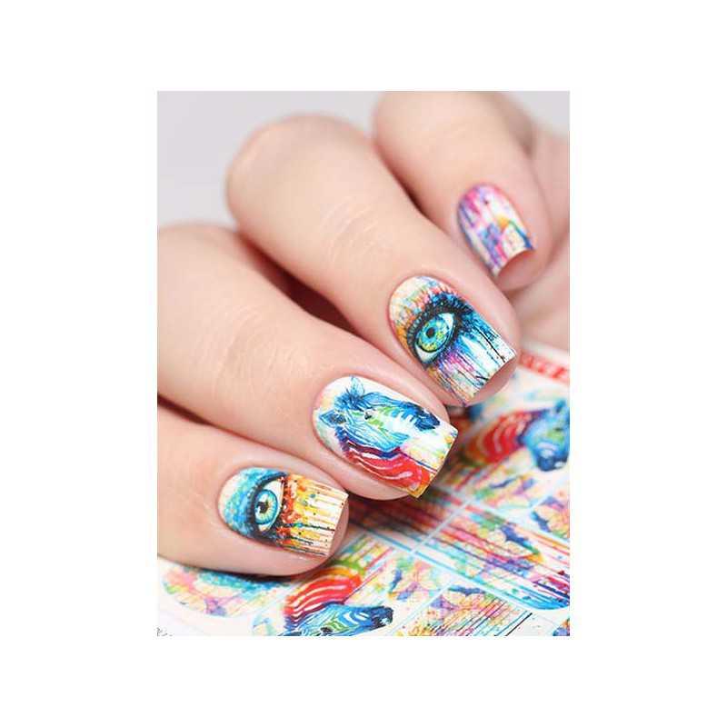 Naklejki wodne na paznokcie Milv Art - N 405