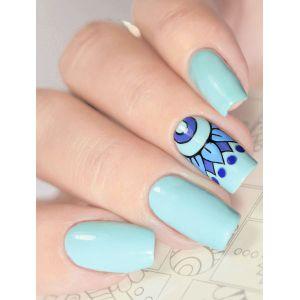 Naklejki wodne na paznokcie Milv Art - B 19