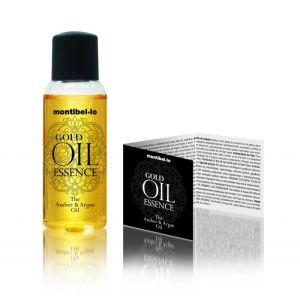 Olejek bursztynowo-arganowy Gold Oil Essence 30 ml Montibello