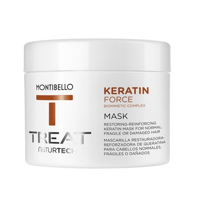 Maska z keratyną Keratin Force 500 ml Montibello