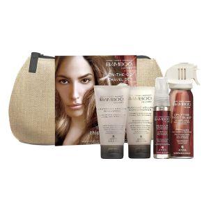 ZESTAW ALTERNA Bamboo Smooth Travel Kit - zestaw podróżny zwiększające objętość włosów