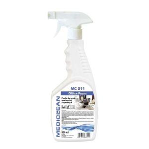 MEDICLEAN MC 211 - 500 ML. Pianka do mycia powierzchni zmywalnych