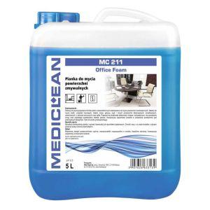 MEDICLEAN MC 211 - 5L. Pianka do mycia powierzchni zmywalnych