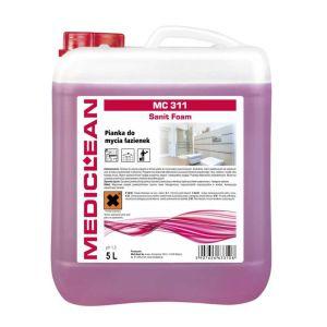 MEDICLEAN MC 311 - 5L. Pianka do mycia łazienek