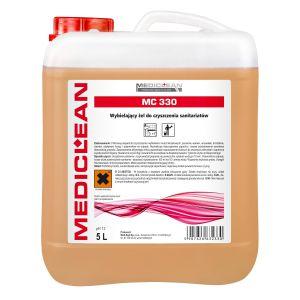 MEDICLEAN MC 330- 5L - Wybielający żel do czyszczenia i wybielania sanitariatów
