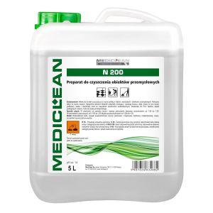 MEDICLEAN N200- 5L Preparat do czyszczenia podłóg w obiektach przemysłowych