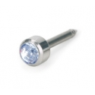 Kolczyk do przekłuwania uszu srebrny tytan medyczny bezel 4 mm alexandrite 1szt Blomdahl kolczyki