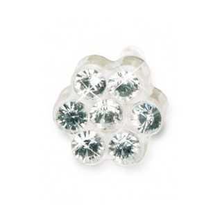 Kolczyk ozdobny do uszu daisy 5mm cristal 1szt Blomdahl kolczyki