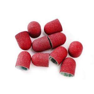 Kapturki ścierne cyrkonowe różowe 13mm 60gr 20szt