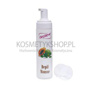 Pianka opóżniająca odrost włosów 200 ml Depileve depil mousse