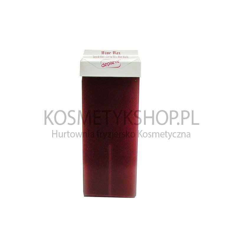 Wosk wkład czerwone wino z aplikatorem 100g Depileve