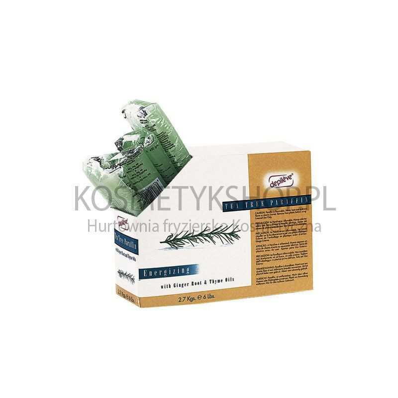 Parafina z olejkiem herbacianym 450 g Depileve tea tree